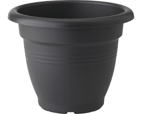 Ghiveci elho Green Basics Campana, plastic, Ø 39 cm, negru