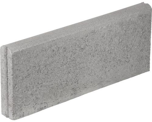 Bordura B4 din beton gri 50x20x5 cm