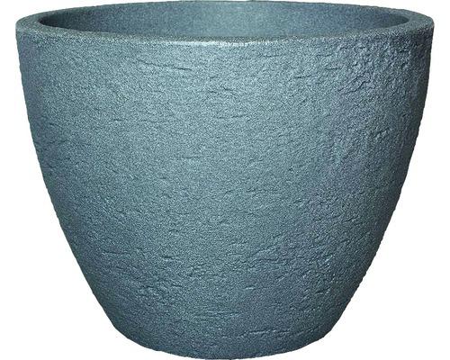 Ghiveci geli Stone, plastic, Ø 50 h 38 cm, gri