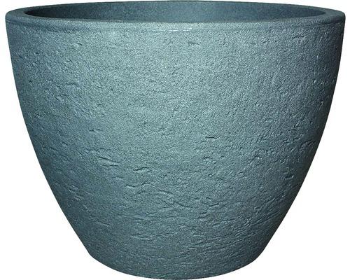 Ghiveci geli Stone, plastic, Ø 60 h 45 cm, gri