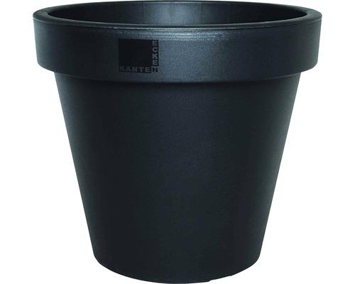 Ghiveci E&K, plastic, Ø 80 cm, antracit