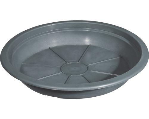 Farfurie ghiveci geli Montana, plastic, Ø 26 cm, antracit