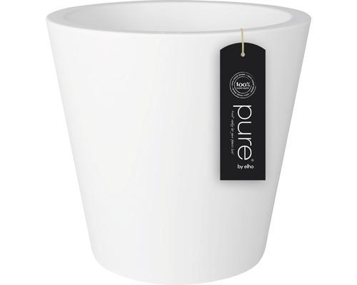 Ghiveci elho Pure, plastic, Ø 35 cm, alb