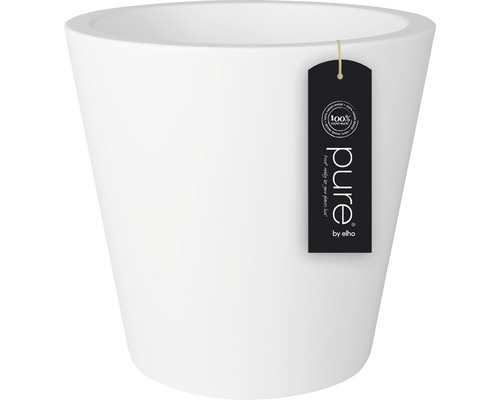 Ghiveci elho Pure, plastic, Ø 50 cm, alb