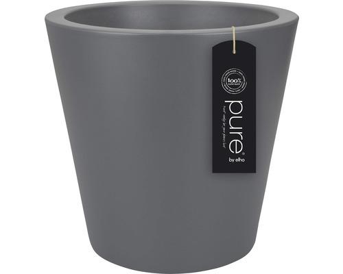 Ghiveci elho Pure, plastic, Ø 50 cm, antracit