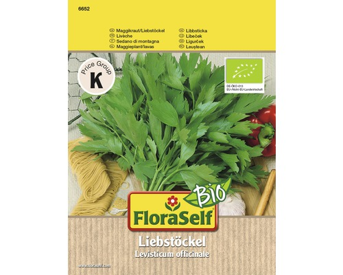 Semințe de plante aromatice FloraSelf Bio, leuștean
