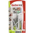 Dibluri plastic cu carlig Fischer UX 8x50 mm, pachet 4 bucati