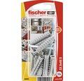 Dibluri plastic cu șurub Fischer SX 8x40 mm, 10 bucăți, filet parțial