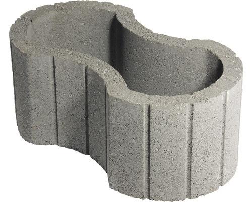 Jardiniera beton clepsidra gri