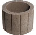 Jardiniera beton cerc maro