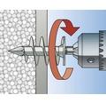 Dibluri plastic autoforante fără șurub Fischer FID50, 4 bucăți, pentru izolații din polistiren
