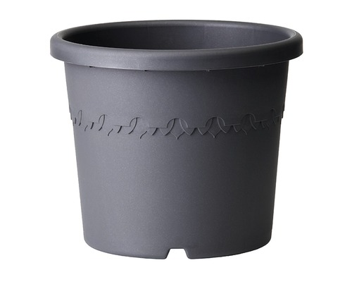 Ghiveci elho Algarve Cilindro, plastic, Ø 25 cm, antracit