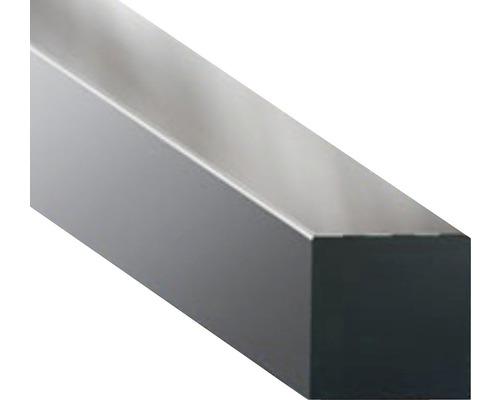 Bara metalica patrata Metaldesign 6x6 mm, 1m, pentru decoratiuni