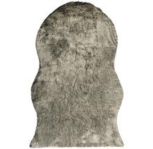 Covor blană artificială Shape neagră 140x200 cm