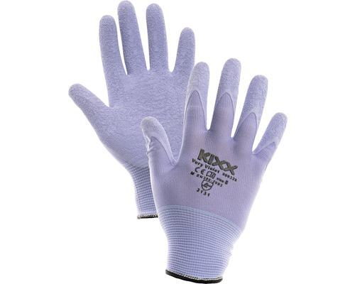 Manusi nailon, latex Very Violet, lila 8