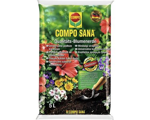 Pamant universal pentru flori Compo Sana 5 l