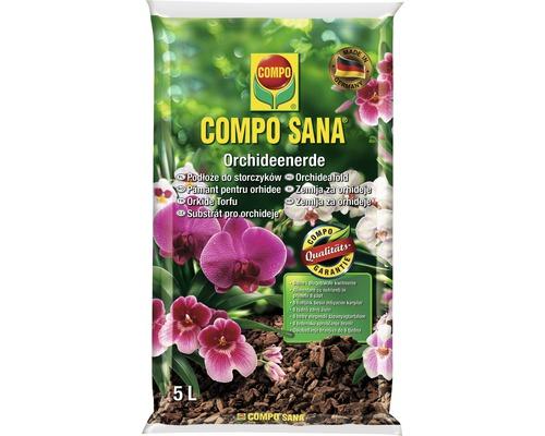 Pamant pentru orhidee Compo Sana 5 l