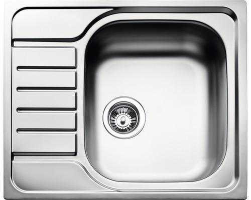 Chiuveta Teka Universal E, 58x50 cm, inox, stanga