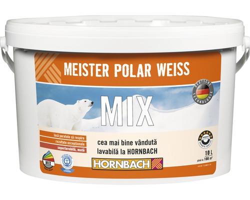 Vopsea lavabila Meister Polar Weiss baza C in nuanta dorita 10 l