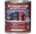 Vopsea de protectie a lemnului impotriva intemperiilor Wetterschutz neagra 750 ml
