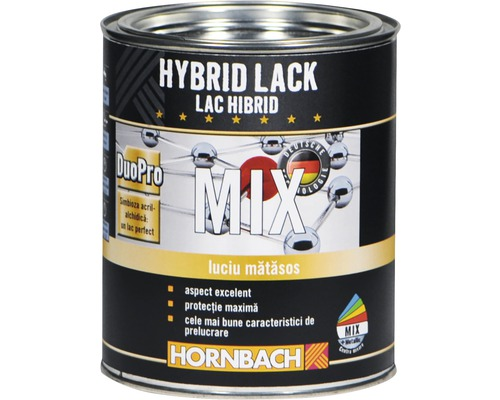 Lac hibrid colorat, semilucios, in nuanta dorita (baza A) 750 ml