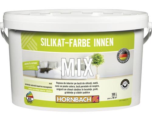 Mix vopsea minerala Hornbach pe baza de silicati pentru interior 10 l (in nuanta dorita)