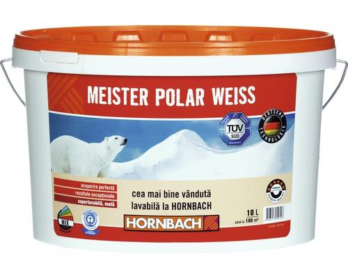 Vopsea lavabila Meister Polar Weiss 10 l