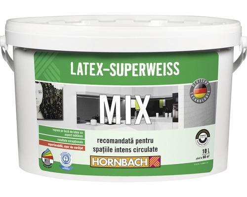 Vopsea pe baza de latex Latex Superweiss in nuanta dorita 10 l