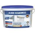 Vopsea lavabila pentru exterior pe baza de silicon alba 10 l