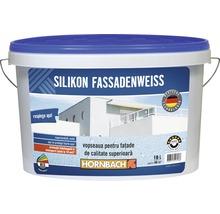 Vopsea lavabilă pentru exterior pe bază de silicon albă 10 l