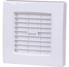 Ventilator Elplast cu grilă automată Ø 100 mm