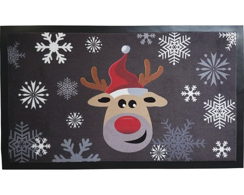 Covoras intrare Craciun Red Nose 45x75 cm