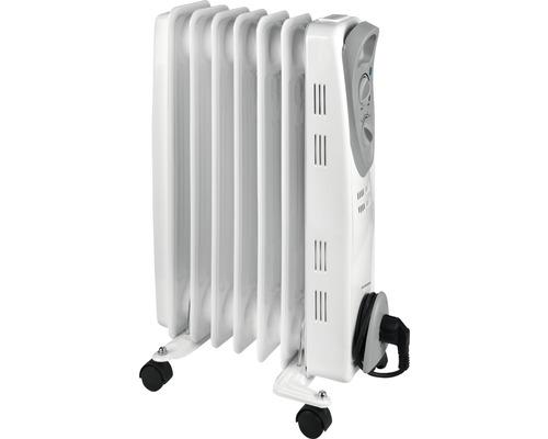 Calorifer electric Eurom RAD1500 1500 W, 7 elementi, termostat