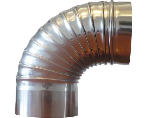 Cot inox 90° Ø150 mm