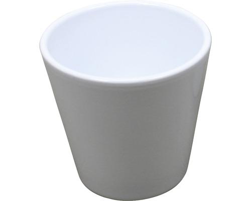 Masca pentru flori Carly, ceramica, Ø 8,5 cm, alb