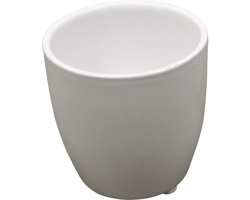 Masca pentru flori, ceramica, Ø 5,3 cm, alb