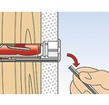Dibluri universale multifunctionale cu carlig rotund Fischer DuoTec Ø10x50 mm, pachet 2 bucati, pentru perete fals sau zidarie