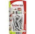 Dibluri plastic fara surub Fischer UX 6x35 mm, 20 bucati, cu guler
