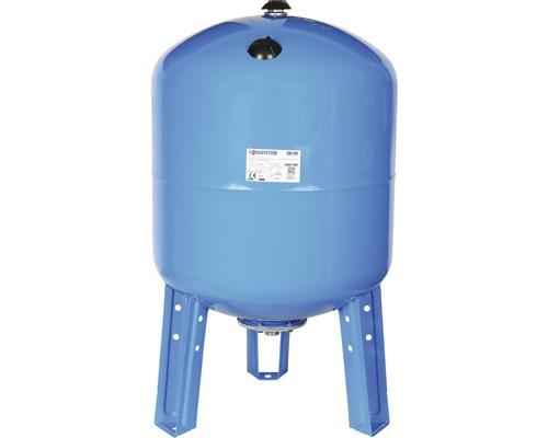Vas rezervor hidrofor orizontal, capacitate 100 l, cu stativ