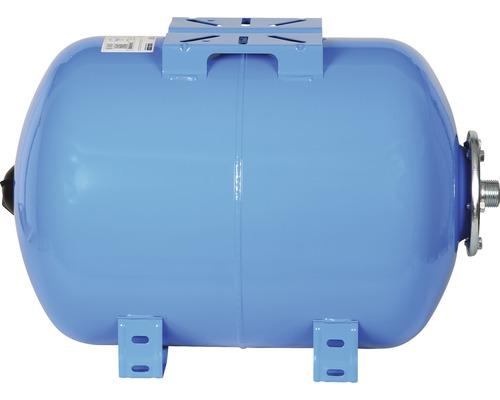 Vas rezervor hidrofor orizontal, capacitate 50 l, cu suport pompa