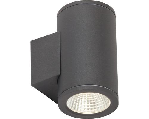 Aplică sus/jos cu LED integrat Argo 2x6W 1100 lumeni, pentru exterior IP54, antracit