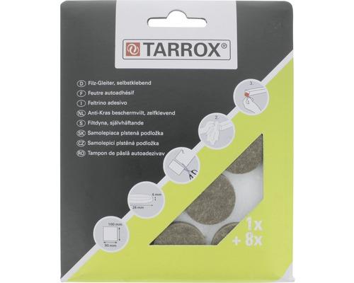 Protectie pasla Tarrox 28mm, maro, pachet 9 bucati