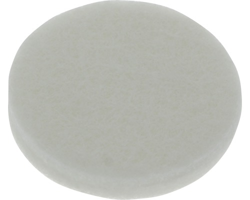 Protectie rotunda pasla Tarrox 17x6mm alb, 20 bucati, autoadezive