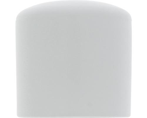 Capac din plastic Tarrox 19mm, alb, 8 bucati, pentru picioare de masa rotunde