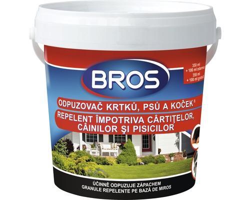 Repelent Bros împotriva cârtițelor, câinilor și pisicilor, 450 ml