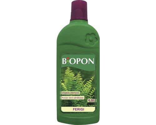 Ingrasamant Biopon lichid pentru ferigi, 0.5 l