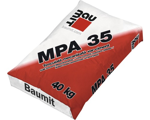 Tencuiala Baumit de exterior MPA 35 40 kg