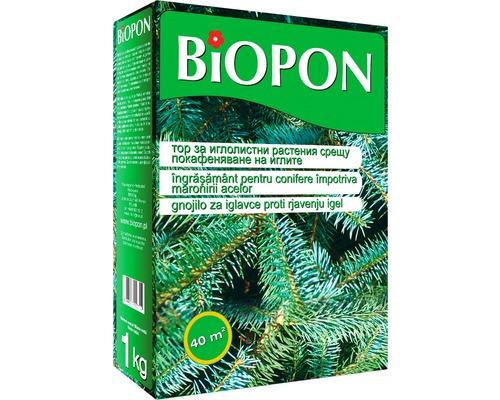 Ingrasamant Biopon impotriva acelor maro la conifere 1 kg