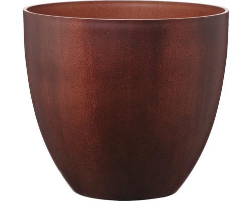 Ghiveci Lafiora Liam, plastic, Ø 45 h 39,5 cm, rugina