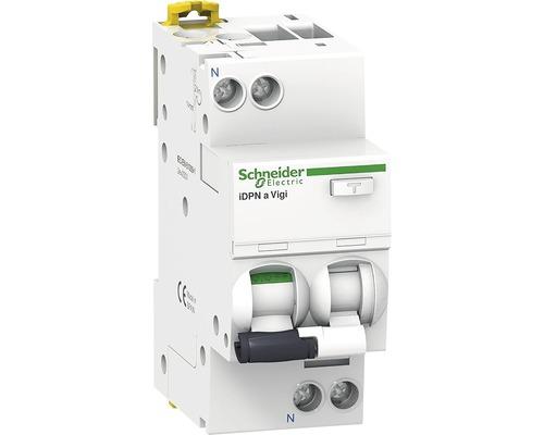 Intreruptor automat cu protectie diferentiala Schneider Acti9 1P+N 16A 4,5kA/30mA, curba C
